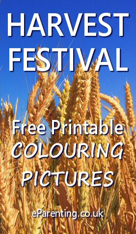 Harvest Festival Colouring Pictures
