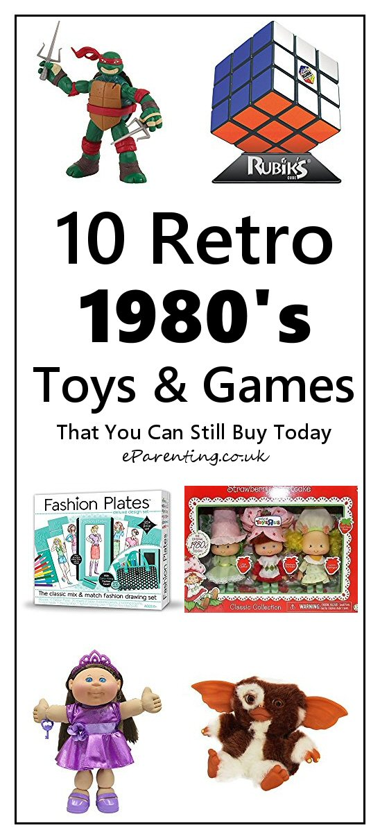 10 Retro 1980's Toys and Games That You Can Still Buy Today
