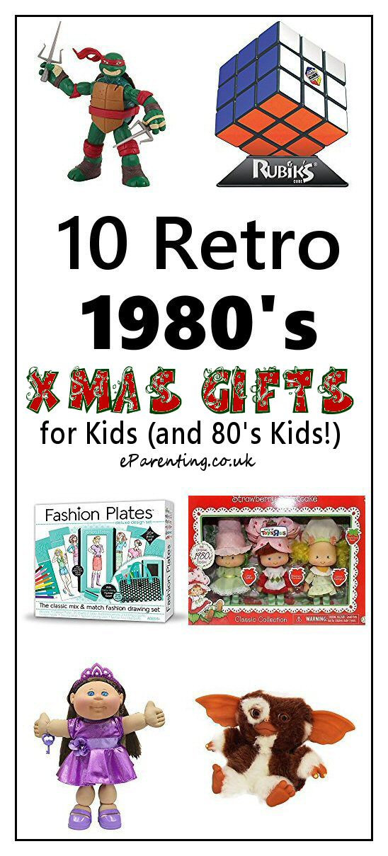 10 Retro 1980's Christmas Gifts for Kids (and 80's Kids!)