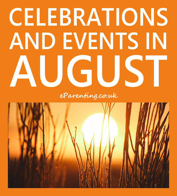 Celebrations and Events in August 2019