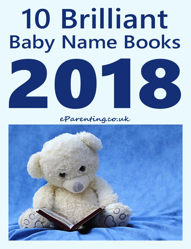 10 Brilliant Baby Name Books 2018