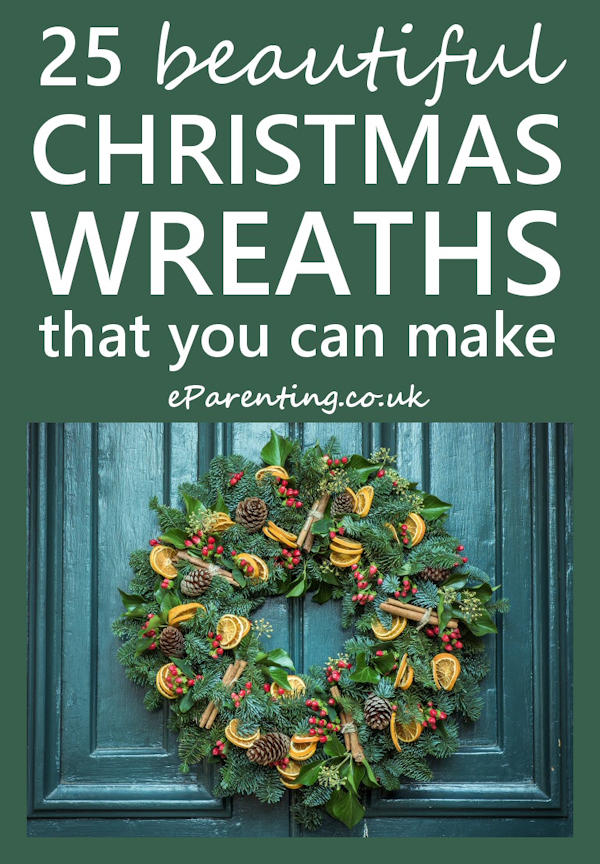 25 Beautiful DIY Christmas Wreaths To Make