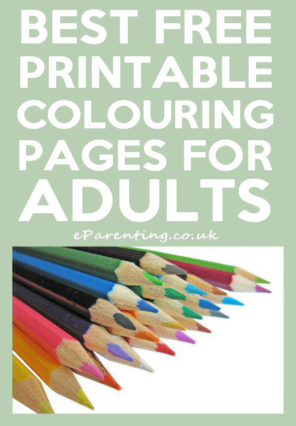 10 Best Free Printable Adult Colouring Pages