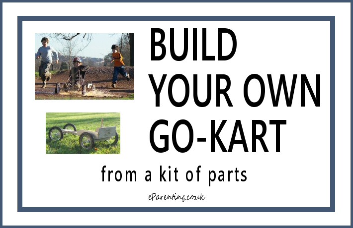 Build Your Own Go Kart From A Kit Of Parts