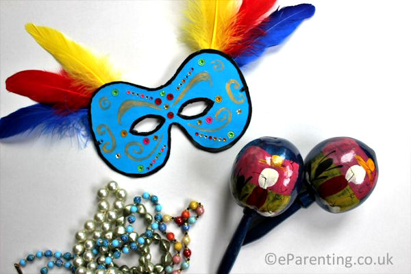 How to Make your own Carnival Mask