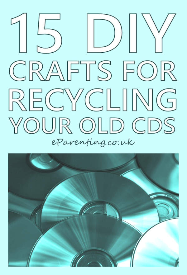 DIY Recycled CD Craft Ideas