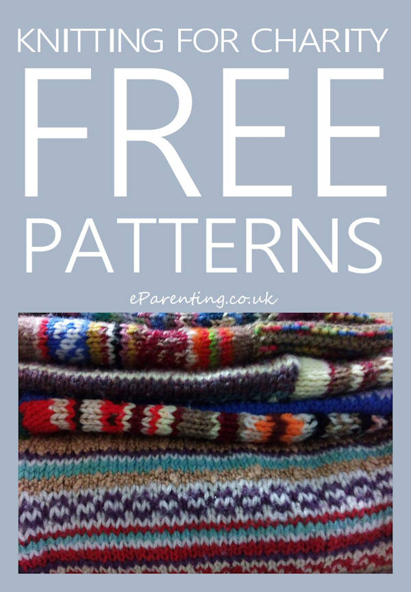 Knitting For Charity - Free Patterns