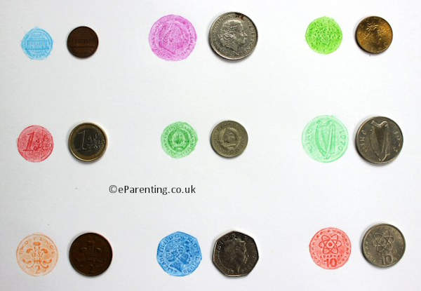Lots of different and interesting coin rubbings