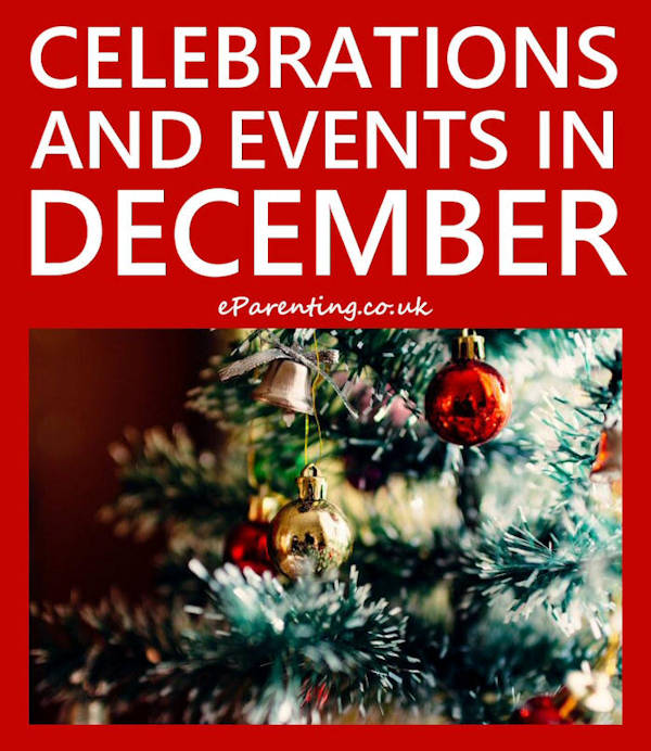 Celebrations and Events in December 2019