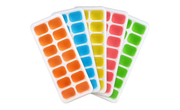 Ice cube trays are a parent's best friend!