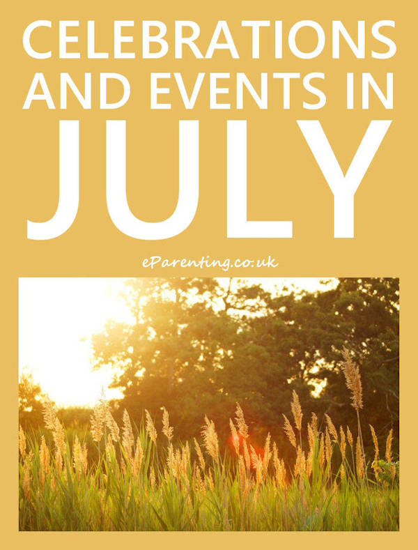 Celebrations and Events in July 2019