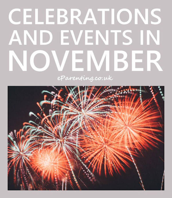Celebrations and Events in November 2020
