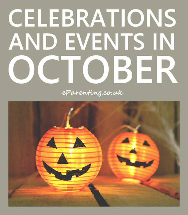 Celebrations and Events in October 2020
