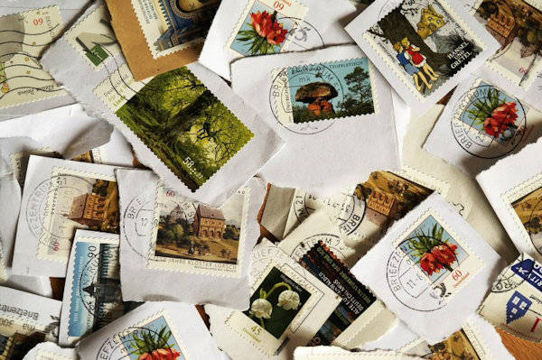 Postage Stamp Craft Project Ideas