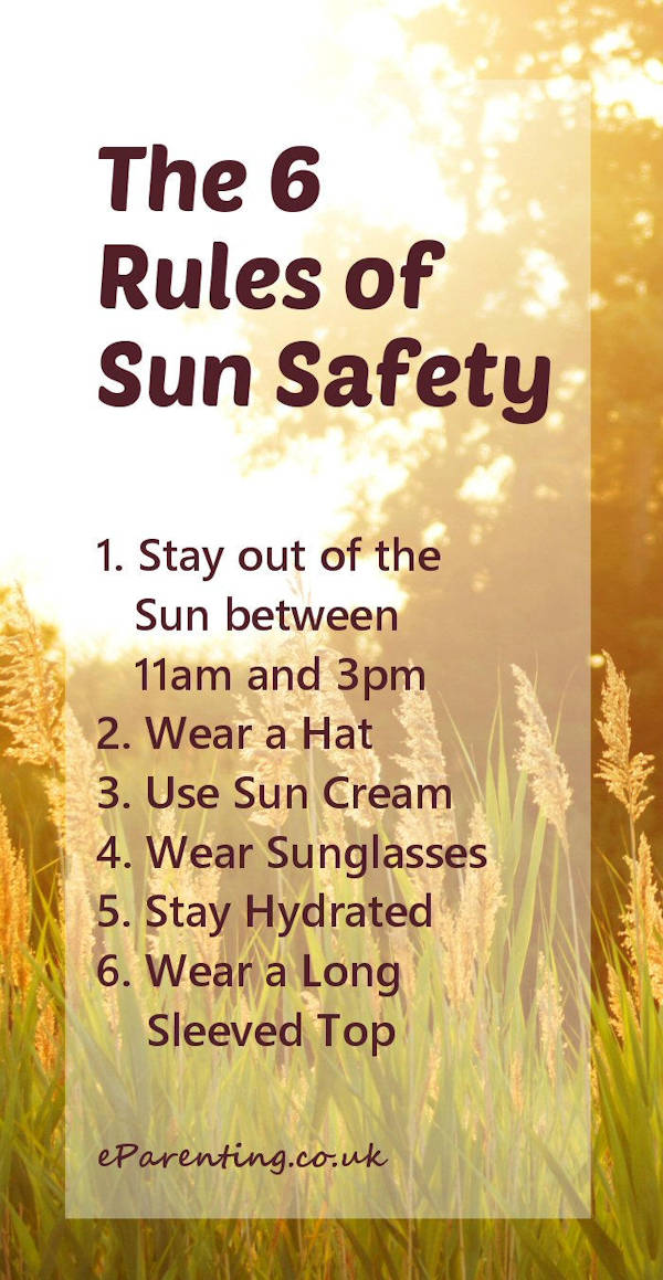 The 6 Rules of Sun Safety