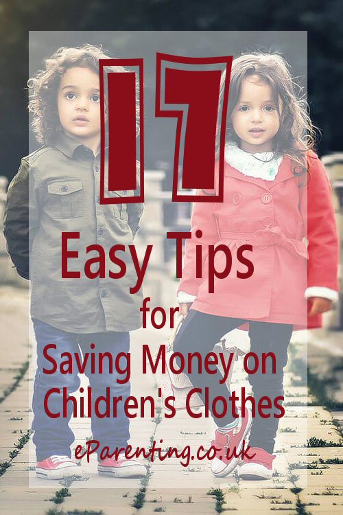 17 Easy Tips for Saving Money on Children's Clothes