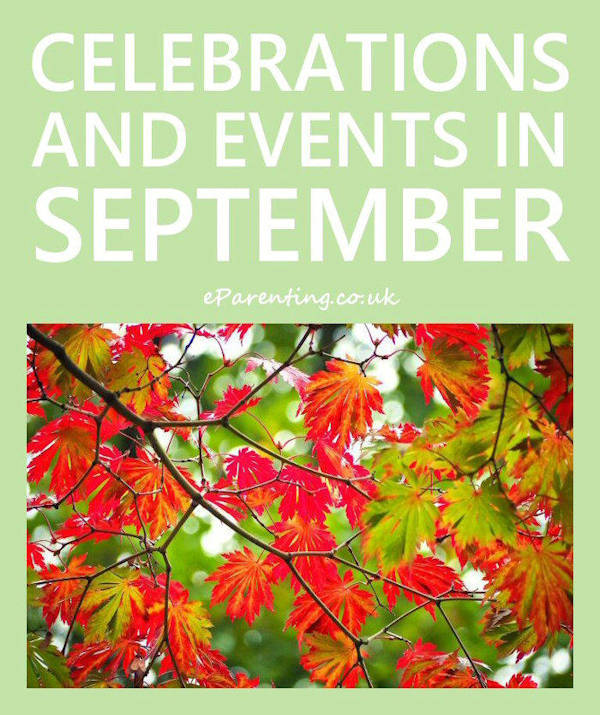 Celebrations and Events in September 2019