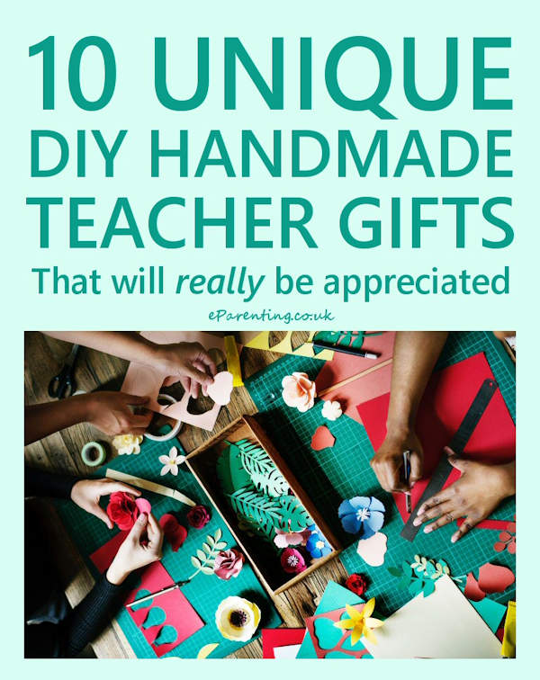 DIY Teacher Gifts That Kids Can Make Quickly And Easily