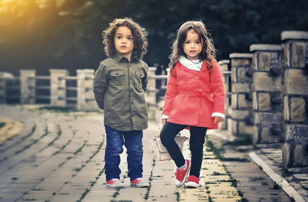 17 Easy Tips for Saving Money on Children's Clothes. Your kids could look this smart for less!