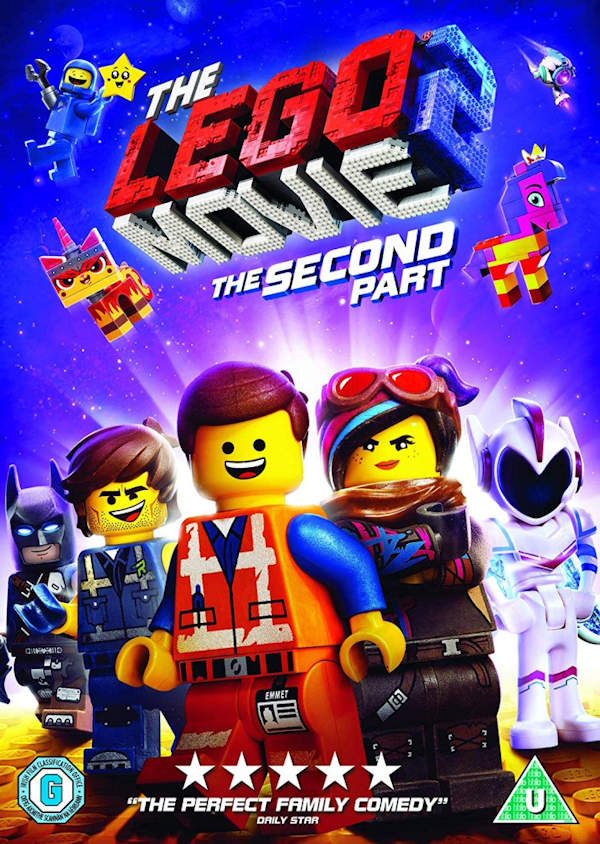 Lego Movie 2 Out on DVD June 2019