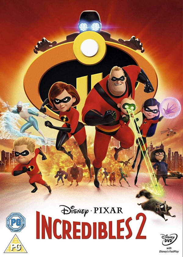 Incredibles 2 out on DVD for Christmas 2018