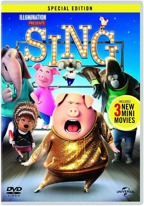 Latest Kids DVD releases for May 2017 - Sing, Monster Trucks and A Monster Calls